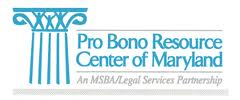 Pro Bono Resource Center logo