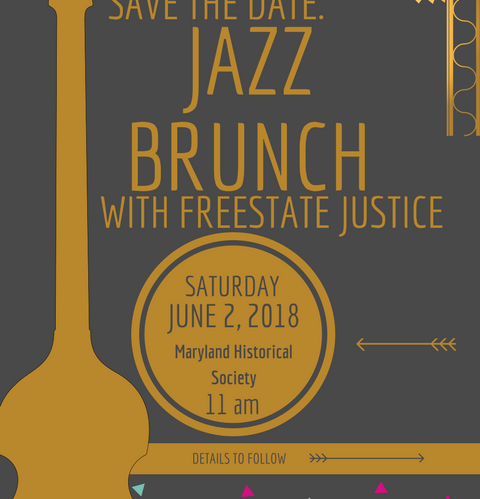 Freestate justice marylands lgbtq advocates save the date for freestate justices jazz brunch sciox Images